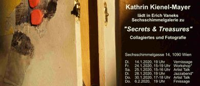 Secrets & Treasures, Collagiertes & Fotografien. Artist Talk