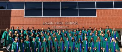 Benefizkonzert des Eagan High School Choral Ensemble