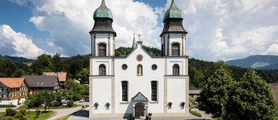 Feiertagsmusik in der Basilika Bildstein