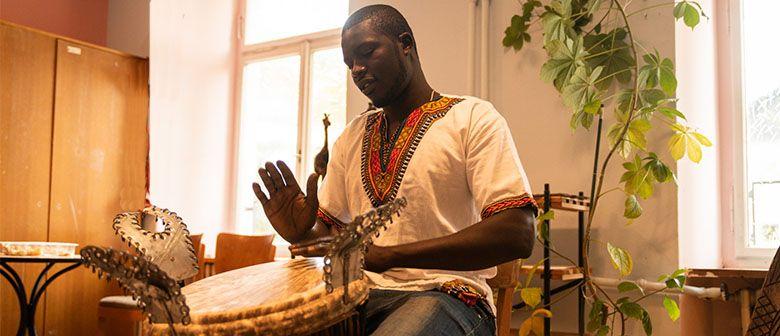 African drumming - Djembe