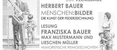 Herbert Bauer - Federzeichnungen
