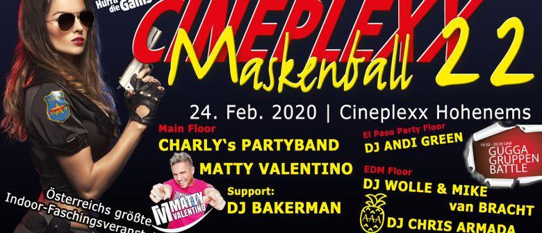 XXL Maskenball 22 im Cineplexx Hohenems - Rosenmontag