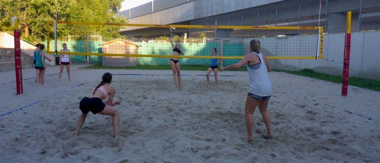 Beachvolleyball Training Damen Advanced by DUBISTDERSPORT