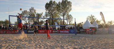 Beachvolleyball Camp beim Surf Worldcup Neusiedl