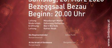Frühjahrskonzert der Bürgermusik Bezau 2020