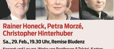 Rainer Honeck, Christopher Hinterhuber & Petra Morzé!