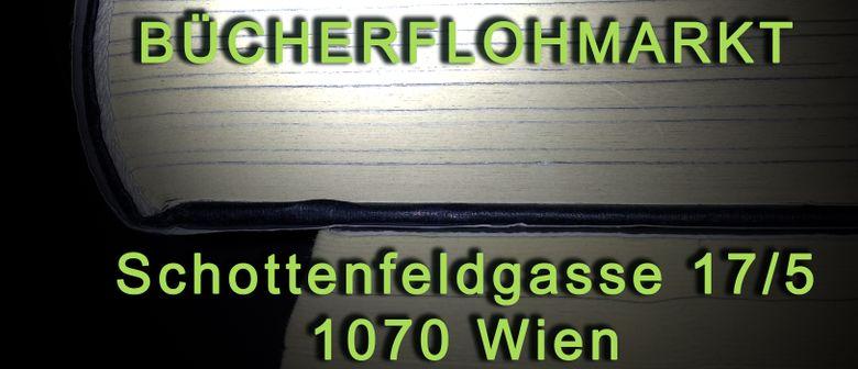 Privater Bücherflohmarkt in 1070 Wien, am 14.03.2020
