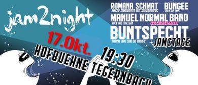 Jam2night - Hofbühne Tegernbach