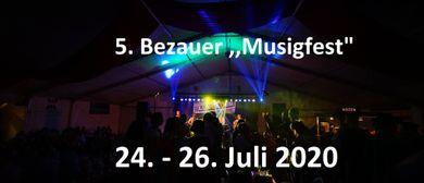 "5. Bezauer ,,Musigfest"" 2020: CANCELLED"