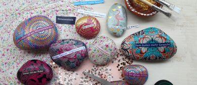 Workshop: Steine mit stärkenden Affirmationen
