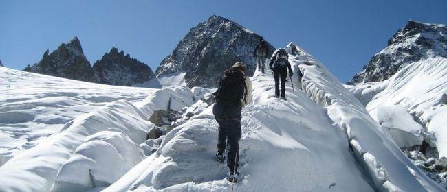 Gletscher Eis Basiskurs