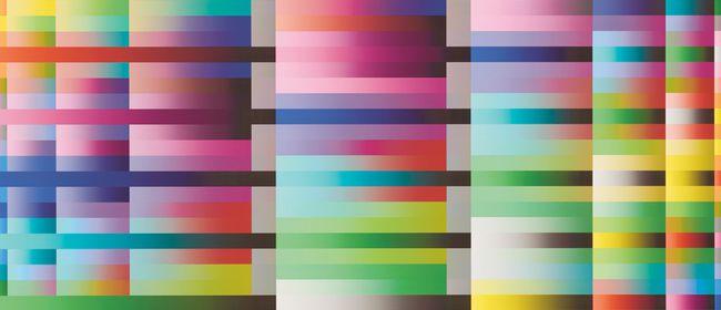 Aus der Sammlung: Bruno Kaufmann. Bildfläche & Bildstruktur