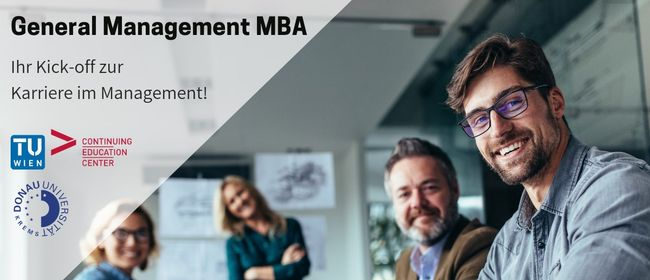 Karriere Kick-off General Management MBA Online Info-Session