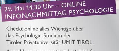 ONLINE Infonachmittag Psychologie
