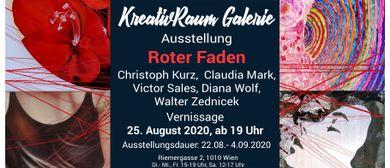 """Gruppen - Ausstellung """"Roter Faden"""""""