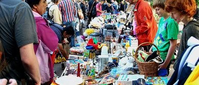 Flohmarkt im Liechtensteinpark 6 - 7 Juni
