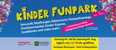 Kinder-Funpark 2020 - beim Rheinpark St. Margrethen