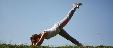 Stabilisationsübungen (Bewegt im Park)