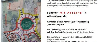 Sommer mit Abstand - Corona-Labyrinth