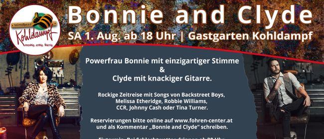 Bonnie & Clyde live im Fohren Center Gastgarten