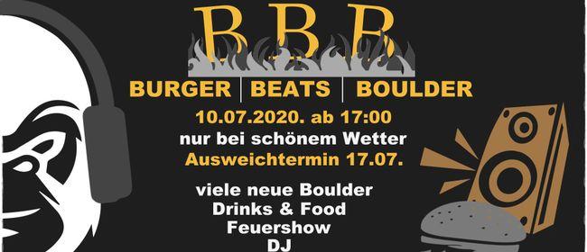BURGER | BEATS |BOULDER