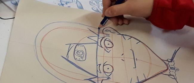 Kinder Künstler Kurse: Comics und Karikaturen