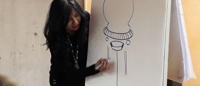 Kinder Künstler Kurse: Pop-up-Manga