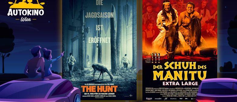 The Hunt & Der Schuh des Manitu - So 12.07. Autokino Wien