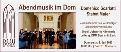 Abendmusik im Dom   Domenico Scarlatti: Stabat Mater