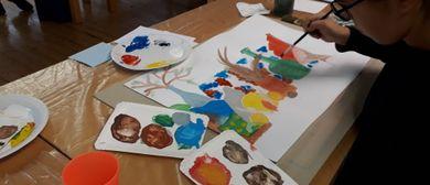 Kinder Künstler Kurse: Portrait ist nicht nur ein Gesicht