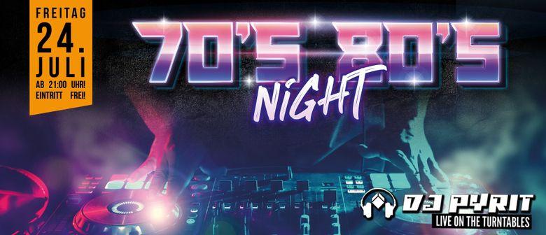 70er 80er Night in der Werkstatt Kufstein