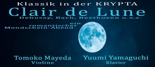 Clair de Lune Violin-/Klavierkonzert