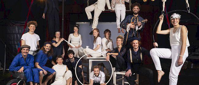 """Zirkus-Theater-Show """"Wir nicht! Sie auch."""""""