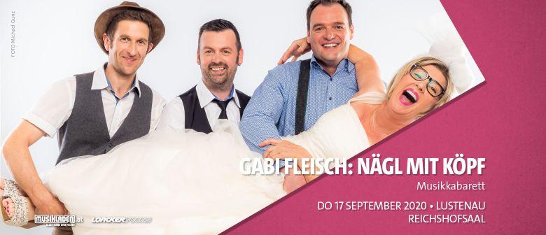 Abgesagt: Gabi Fleisch: Nägl mit Köpf // Lustenau: CANCELLED