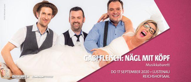 Abgesagt: Gabi Fleisch: Nägl mit Köpf // Lustenau: ABGESAGT
