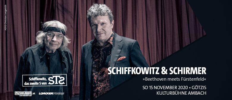 Abgesagt: Schiffkowitz & Schirmer // Götzis: CANCELLED
