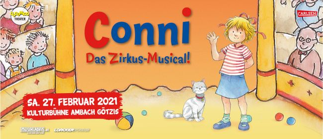 Abgesagt: Conni - Das Zirkus-Musical! // Götzis: ABGESAGT