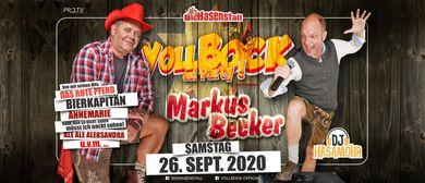 VOLL BOCK auf Markus Becker