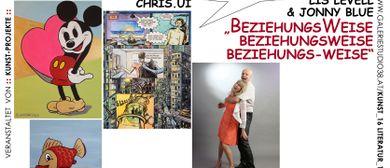 Comic-Bilder mal zwei und vielschichtige Beziehungsmuster!