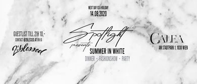 SPOTLIGHT presents SUMMER IN WHITE