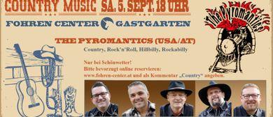 The Pyromantics (USA-AT) Country live im Fohren Center