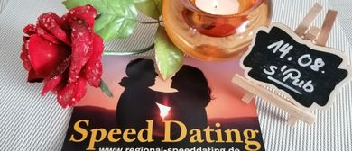 SPEED DATING am 14. August im s`Pub in Schwarzach