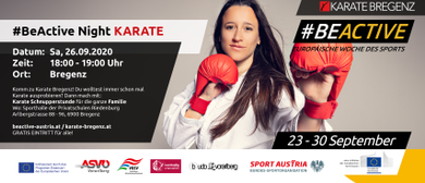 Karate Bregenz #BeActiveNight 2020