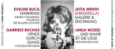 Vier Frauen & die KRIMI.ZEIT!