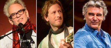 Ulli Bäer, Matthias Kempf und Andy Baum – ein Abend zu dritt