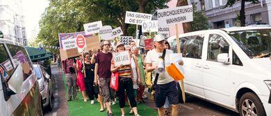 Pro-Vokation auf der Wohnstraße