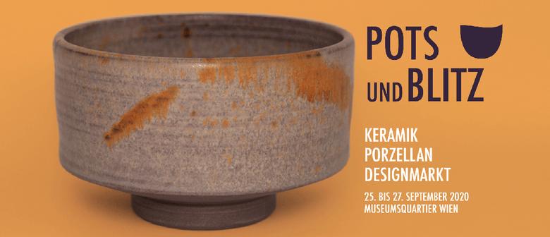 POTS und BLITZ   Keramik ∙ Porzellan ∙ Designmarkt