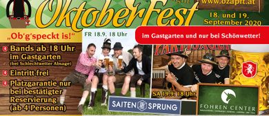 10. Bludenzer OktoberFest (light) im Fohren Center