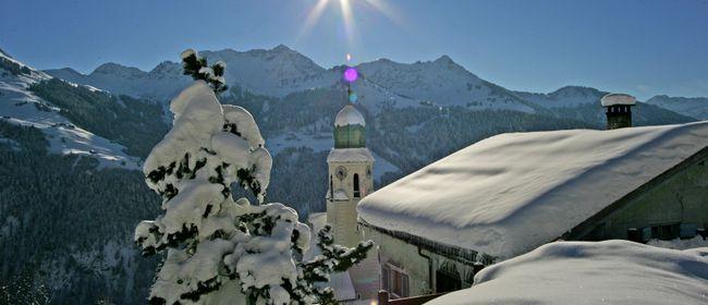 Bergweihnacht in Fontanella