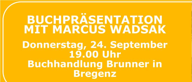 Buchpräsentation mit Marcus Wadsak